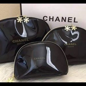 Chanel beauty line cosmetic bag. Only 1 size left